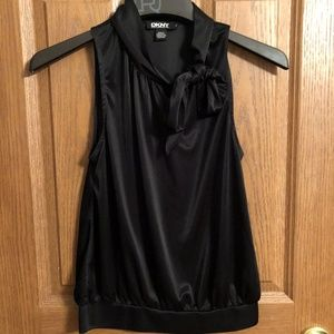 XS Tie Neck Blouse - Worn Once